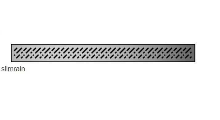 Radaway Slim Rain odpływ liniowy 75x6cm 5L075S/5R075SR