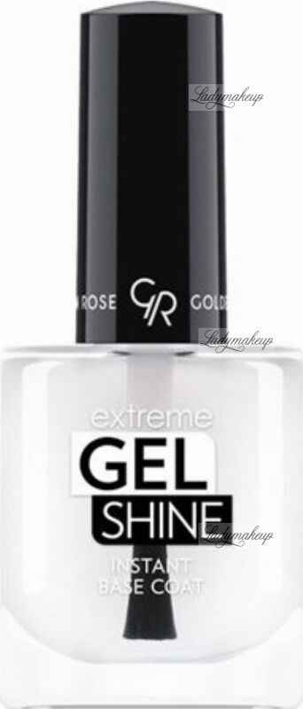 Golden Rose - Extreme Gel Shine Instant Base Coat - Żelowa baza pod lakier do paznokci