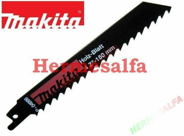 Brzeszczoty HSS 150mm do piły szablastej Makita P-04999 do drewna - 5szt.