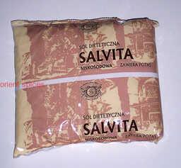 Sól niskosodowa SALVITA - 500g