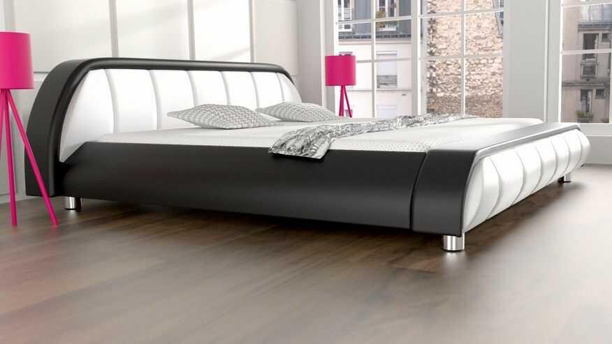 Łóżko podświetlane Blues LED