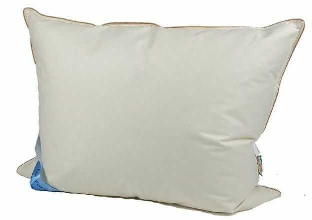 Poduszka z pierza 70x80 cm 2kg kremowa