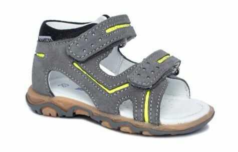 Bartek 71825 76G sandały sandałki dla dzieci, dziecięce - basalt - szary