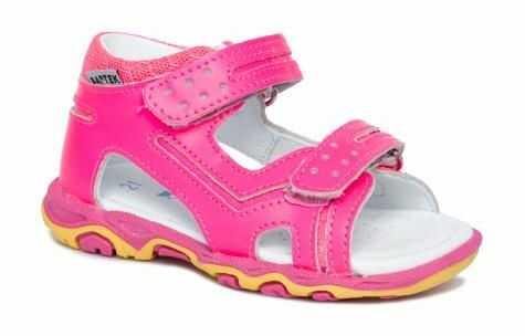 Bartek 71825 NPF sandały sandałki dla dzieci, dziecięce - różowy neon