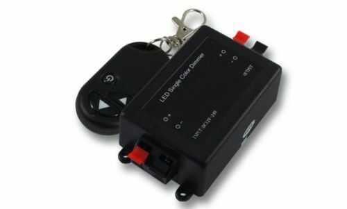 Ściemniacz bezprzewodowy 8A radiowy RF do taśm LED + pilot