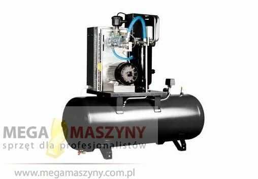 Sprężarka śrubowa ECONOMY 7,5/200 10KM/7,5kw, 802l./min. Zbiornik 200L