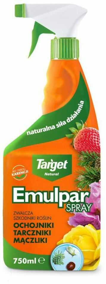 Środek owadobójczy EMULPAR SPRAY 750 ml TARGET NATURAL
