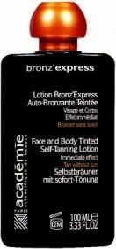 Academie Bronz ''Express Lotion Teintee Samoopalacz w płynie na twarz i ciało 100 ml