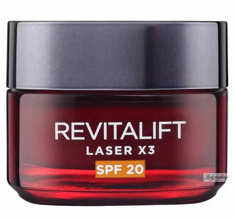 L''Oréal - REVITALIFT LASER X3 - Krem Anti-age SPF 20 na dzień