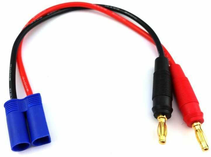 Przewod bananki -> EC5 przewód adapter przejściówka