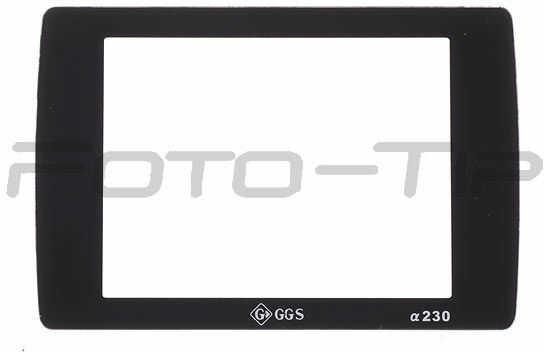 GGS osłona LCD dedykowana do Sony A230szkło hartowane