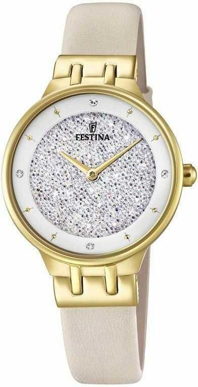 Zegarek Festina F20405-1 Swarovski - CENA DO NEGOCJACJI - DOSTAWA DHL GRATIS, KUPUJ BEZ RYZYKA - 100 dni na zwrot, możliwość wygrawerowania dowolnego tekstu.
