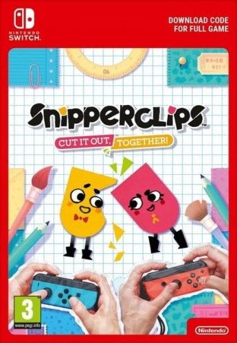 Snipperclips Plus: Cut it out, together! NS Używana