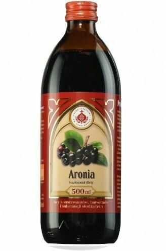 Produkty Bonifraterskie sok z aronii 500 ml
