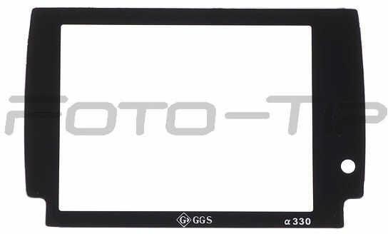 GGS osłona LCD dedykowana do Sony A330 szkło hartowane