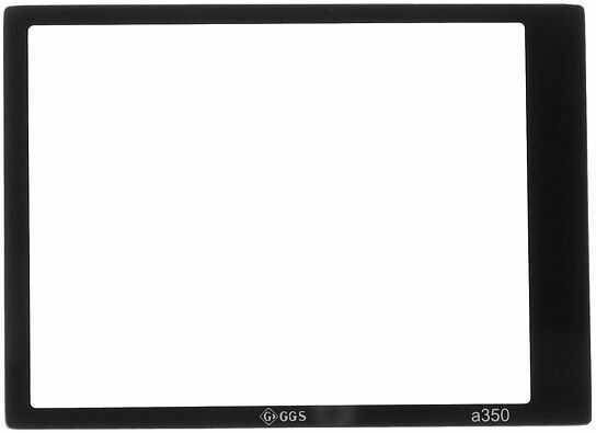 GGS osłona LCD dedykowana do Sony A350 szkło hartowane