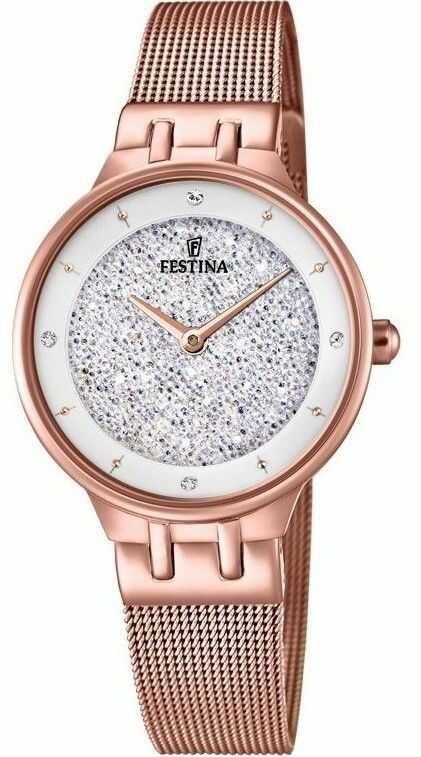 Zegarek Festina F20387-1 Swarovski - CENA DO NEGOCJACJI - DOSTAWA DHL GRATIS, KUPUJ BEZ RYZYKA - 100 dni na zwrot, możliwość wygrawerowania dowolnego tekstu.