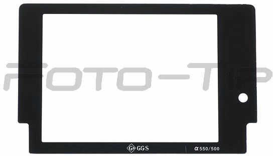 GGS osłona LCD dedykowana do Sony A550