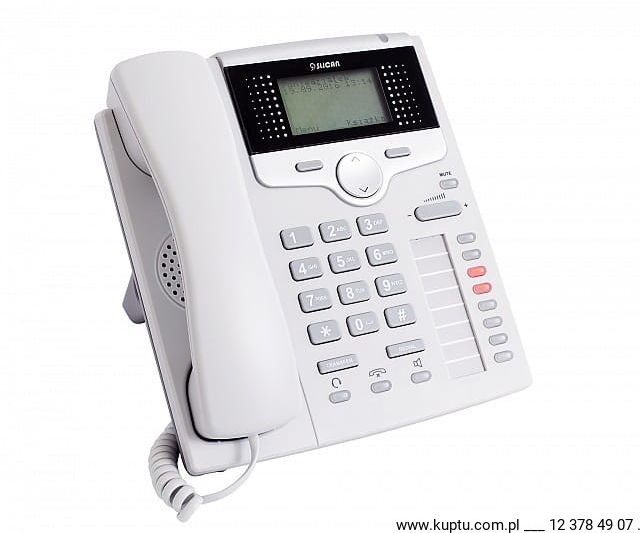 CTS-220.CL-GR, telefon systemowy SLICAN