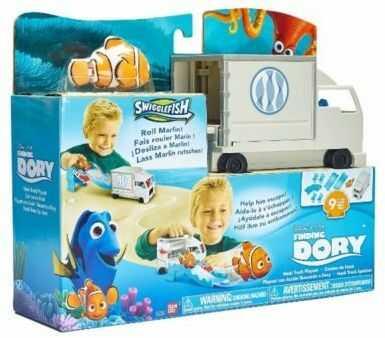 Swigglefish zestaw z samochodem Gdzie jest Dory