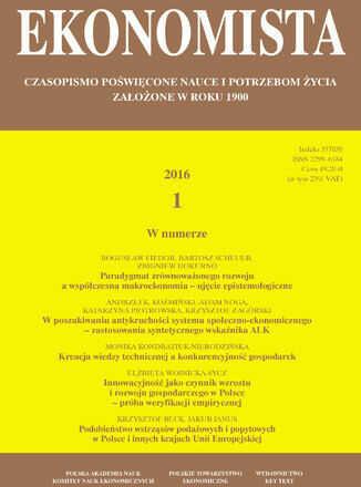 Ekonomista 2016 nr 1 - Ebook.