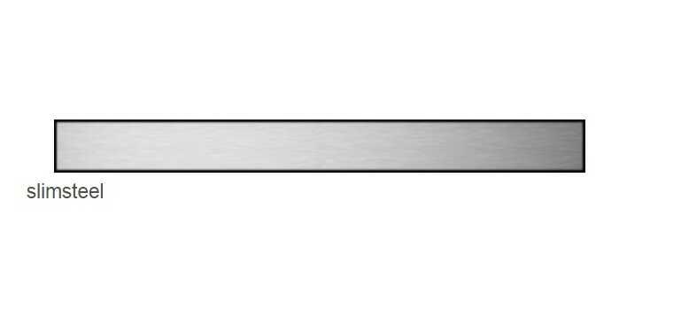 Radaway Slim Steel odpływ liniowy 85x6cm 5L085S/5R085SS