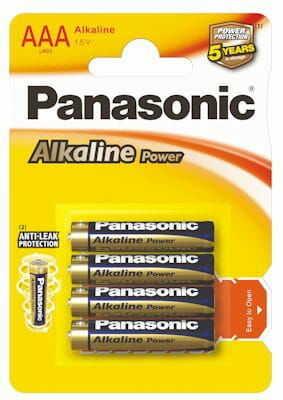 Bateria panasonic alkaline power LR3/AAAx4