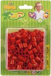 Hama 8505 koraliki do prasowania Maxi, ok. 250 pereł czerwone