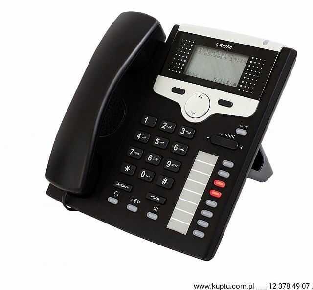 CTS-220.CL-BK, telefon systemowy SLICAN