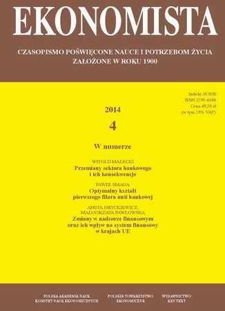 Ekonomista 2014 nr 4 - Ebook.