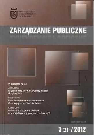 Zarządzanie Publiczne nr 3(21)/2012 - Ebook.