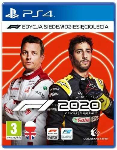 F1 2020 PS 4 Używana