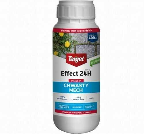 Effect 24h 680 ec  zwalcza chwasty i mech  500 ml target