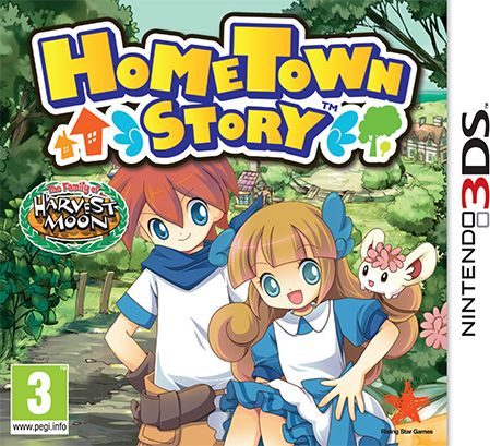 Gra Hometown Story (Nintendo 3DS)