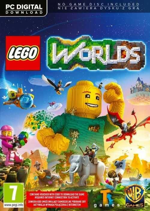 LEGO Worlds (PC) PL klucz Steam