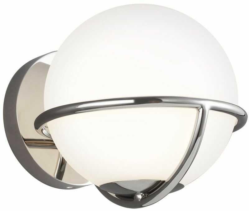 Lampa ścienna APOLLO FE-APOLLO1-PN - Elstead Lighting  SPRAWDŹ RABATY  5-10-15-20 % w koszyku