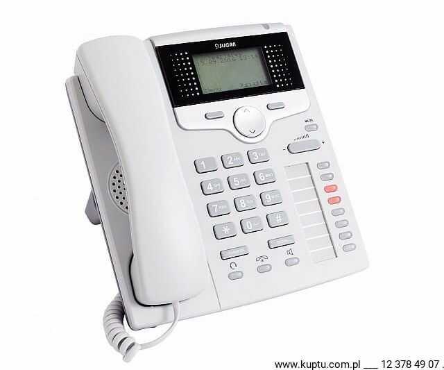 CTS-220.IP-GR, telefon systemowy SLICAN