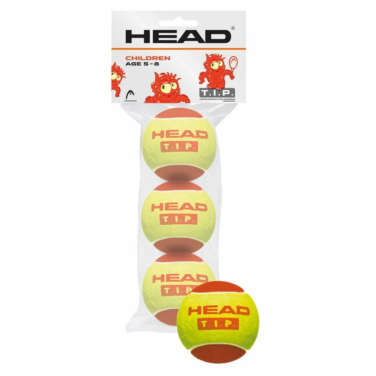 Head T.I.P. Red (3 szt.)