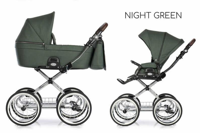 ROAN COSS CLASSIC +FOTELIK (DO WYBORU)+GRATIS! DARMOWA DOSTAWA! ODBIÓR OSOBISTY! - Night Green