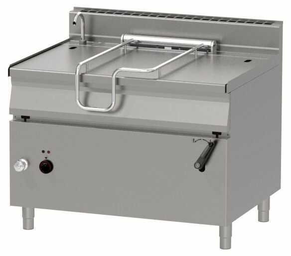 Patelnia elektryczna z uchylaniem ręcznym 120L 18000W 1200x900x(H)900mm