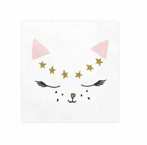 Serwetki papierowe Kotek, Kocie Parte