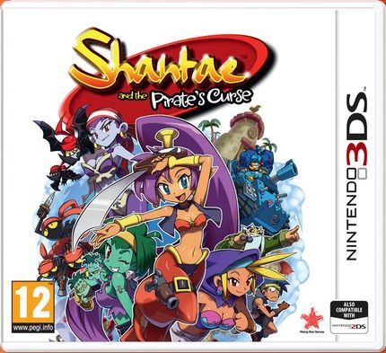 Gra Shantae & The Pirate''s Curse (Nintendo 3DS)