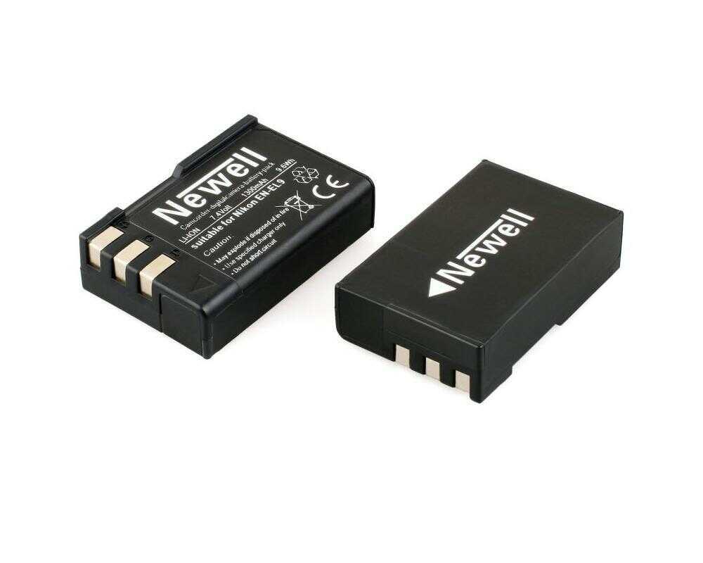 Newell EN-EL9 - akumulator / zamiennik EN-EL9 do Nikon / 1300mAh Newell EN-EL9 / 1300mAh