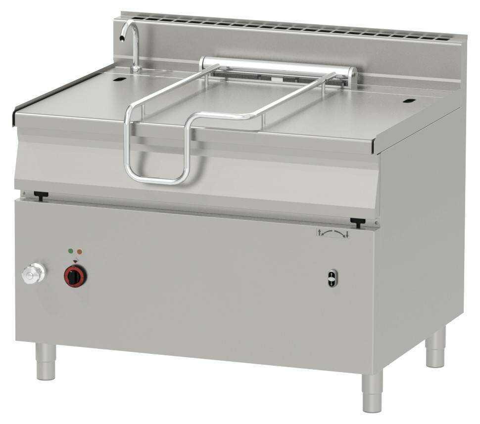 Patelnia elektryczna z uchylaniem automatycznym 120L 18000W 1200x900x(H)900mm