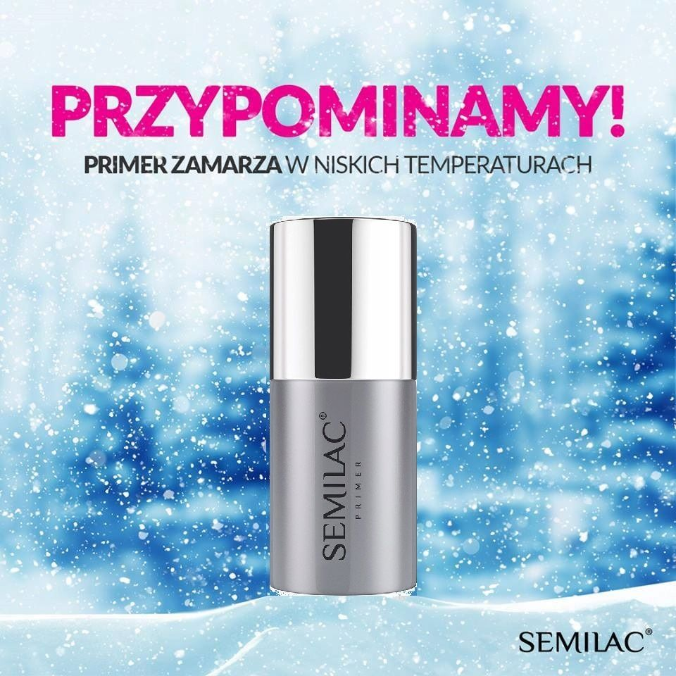Semilac Primer Bezkwasowy Non-Acid 7ml NOWE OPAKOWANIE