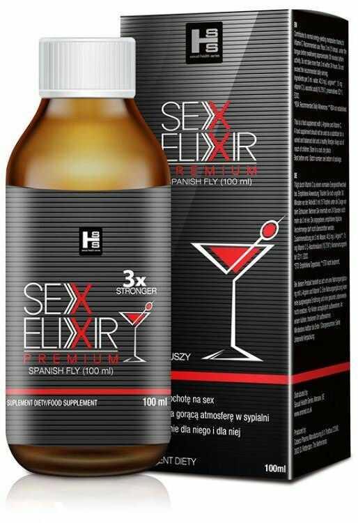 Nowy Sex Elixir 3x Mocniejszy Spanish Fly 100ml 100% DYSKRECJI BEZPIECZNE ZAKUPY