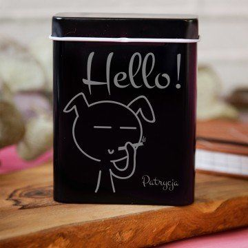 Hello you - etui na papierosy z grawerem