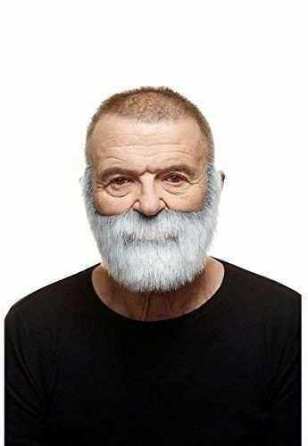 Żywe kostiumy 205033 wąsy, wielokolorowe, jeden rozmiar