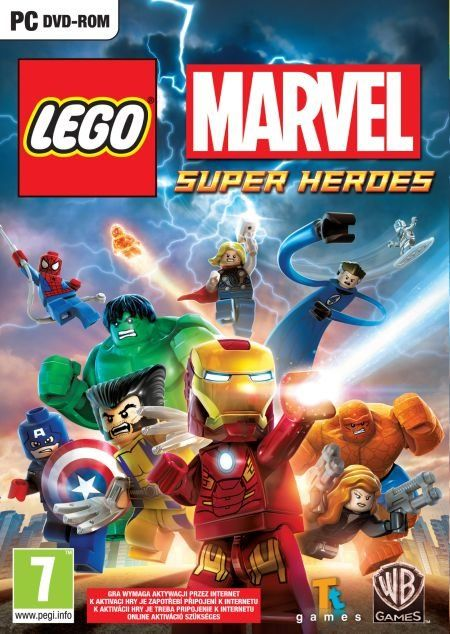LEGO Marvel Super Heroes (PC) PL/ANG klucz Steam