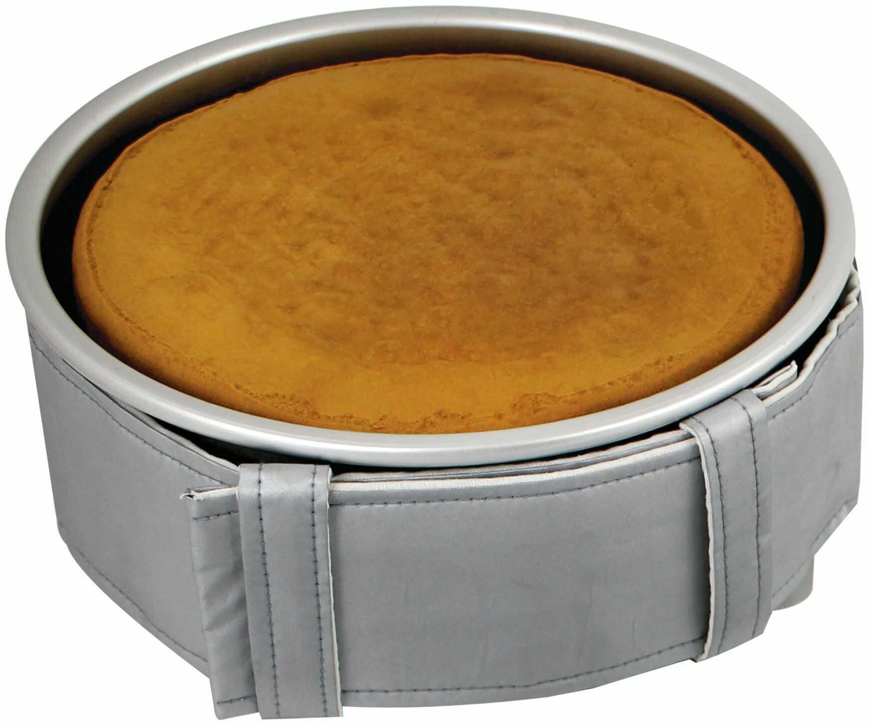 PME Poziomy pas do pieczenia na 7,5 cm głębokie okrągłe i kwadratowe patelnie